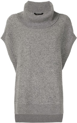 BCBGMAXAZRIA Roll Neck Jumper