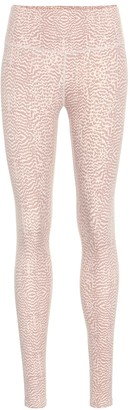 Varley Duncan snake-print leggings