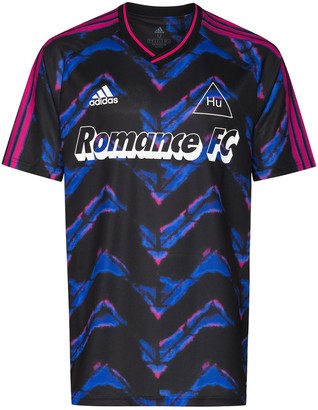 adidas Romance FC print T-shirt