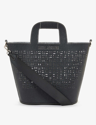 Rosie Assoulin x Hyundai Re:Style upcycled branded woven tote bag