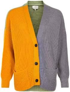 Nümph Multi Color Cotton Chunky Livana Cardigan - cotton | xs