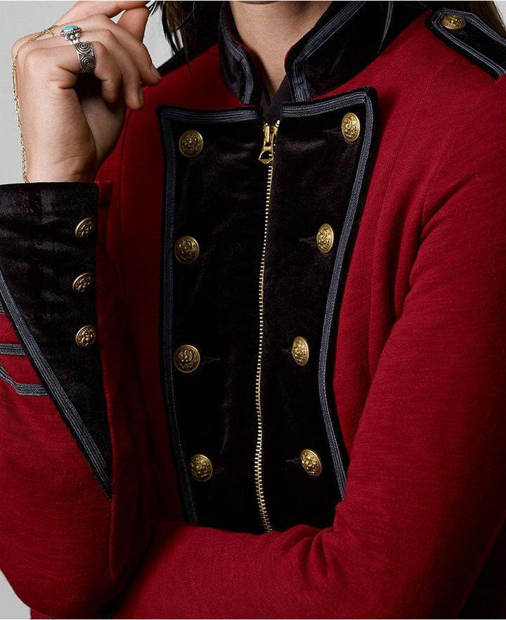 Denim & Supply Ralph Lauren Jacket, Double-Breated Military-Inspired