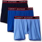 Tommy Hilfiger Men's 3 Pack Boxer Brief in Red Box