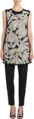 Dries Van Noten Deco Embellished Gazar Tunic