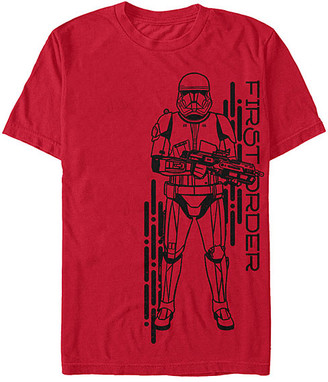 Fifth Sun Tee Shirts RED - Star Wars Red 'First Order' Project Red Tee - Adult