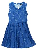 My Michelle mymichelle Lace Overlay Dress (Big Girls)