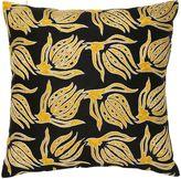 Les Ottomans Limit.ed Suzani Luxury Gold Tulip Pillow