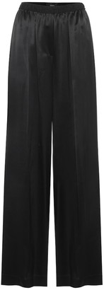 Joseph Taffy wide-leg silk-satin pants