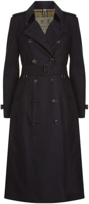 Burberry Chelsea Long Heritage Trench Coat