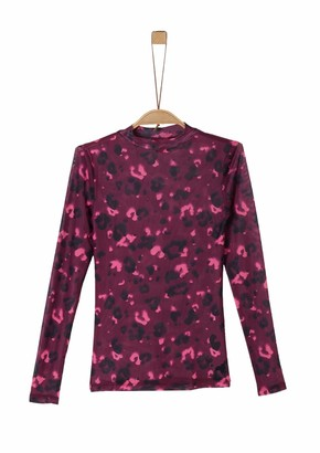 S'Oliver Girl's 66.911.31.8679 Long Sleeve Top