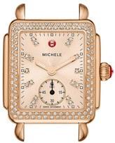 Michele Women's 'Deco 16 Diamond' Watch Case, 29Mm X 31Mm