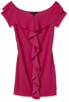 Forever 21 Women's Plus Size Ruffled Mini Dress