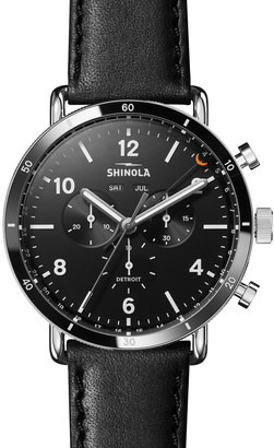 Shinola Men's 45mm Canfield Chronograph Watch