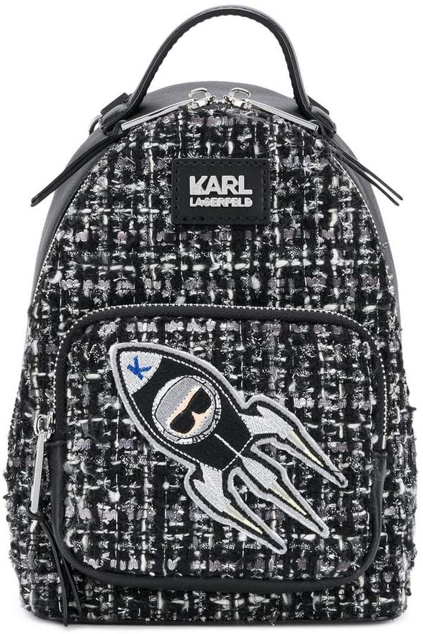 Karl Lagerfeld K/Space mini backpack