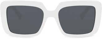 Versace Eyewear VE4384B532787 square-frame sunglasses