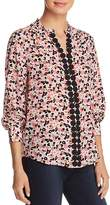 Kate Spade Small Blooms Silk Blouse