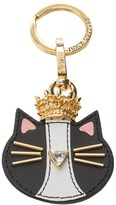 Juicy Couture Leather Cat Queen Key Fob