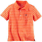 Carter's Striped Jersey Polo