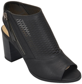 City Classified Black Fork Bootie