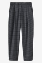 Toast Check Wool Trouser
