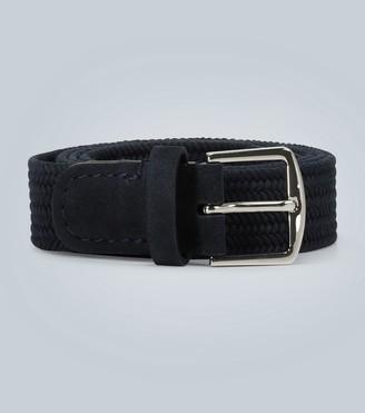 Loro Piana Woven cotton belt