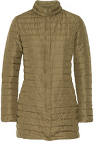 Duvetica Elare quilted shell down coat
