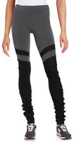 Steve Madden Solid Leg Warmer Leggings