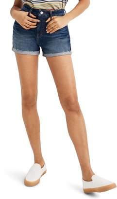 Madewell Curvy High Waist Denim Shorts
