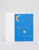 Orelia Love You To The Moon & Back Gift Card