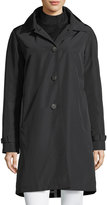 Jane Post 3-in-1 Button-Front Rain Coat