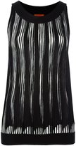 Missoni pleated sleeveless blouse - women - Rayon/Wool - 44
