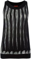 Missoni pleated sleeveless blouse