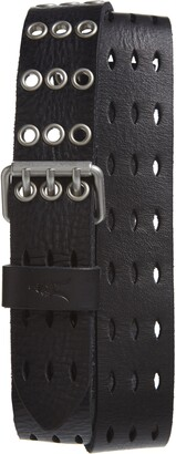 AllSaints Perforated Leather Belt
