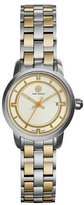 Tory Burch 28mm Tory Two-Tone Bracelet Strap Watch, Silver/Golden