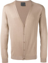 Laneus V-neck cardigan - men - Silk/Cashmere - 46