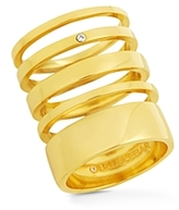 BaubleBar Lee Stacking Rings, Set of 5