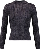 Eight Metallic knitted sweater