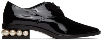 Nicholas Kirkwood Black Patent Casati Derby Oxfords