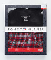 Tommy Hilfiger Knit and Flannel Pajama Set - Men's
