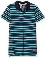 Esprit Men's Pi Yd Str Short Sleeve Polo Shirt