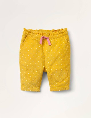 Spot Cord Pull-on Trousers