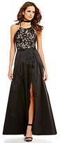 Gianni Bini Melinda Lace Bodice Full Skirt with Slit Set