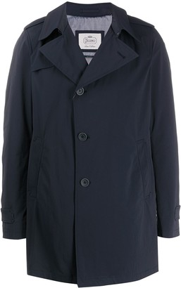 Herno Notched-Lapel Mid-Length Trench