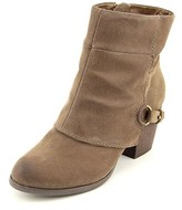 Fergalicious Liza Round Toe Synthetic Ankle Boot.