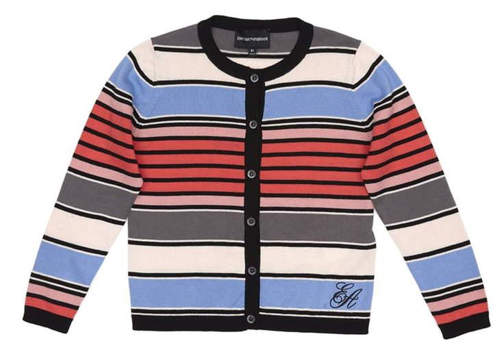 Armani Junior Stripe Cardigan