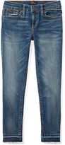 Ralph Lauren 7-16 Frayed Tompkins Skinny Jean