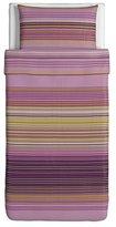 Ikea Palmlilja Duvet Cover and Pillowcases, Twin, Purple