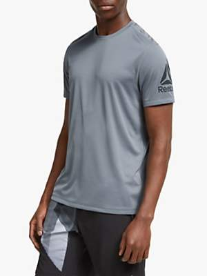 Reebok Commercial Channel Tech Short Sleeve Training Top