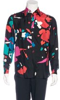 Gianni Versace Printed Silk Shirt