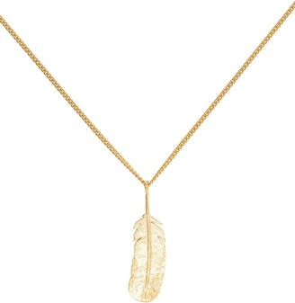 Wouters & Hendrix Feather Pendant Necklace